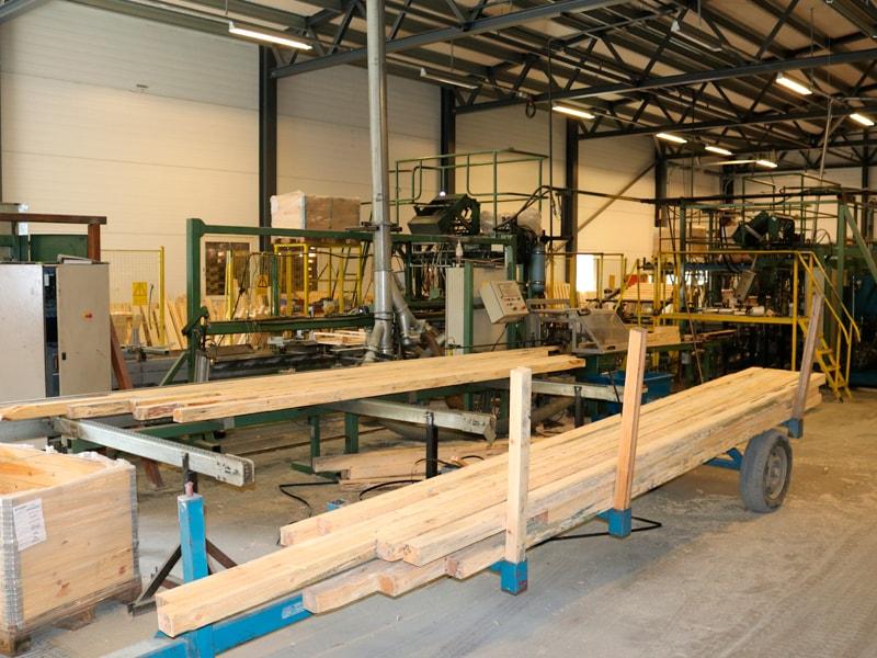fabrikken palleproduksjon Slungård